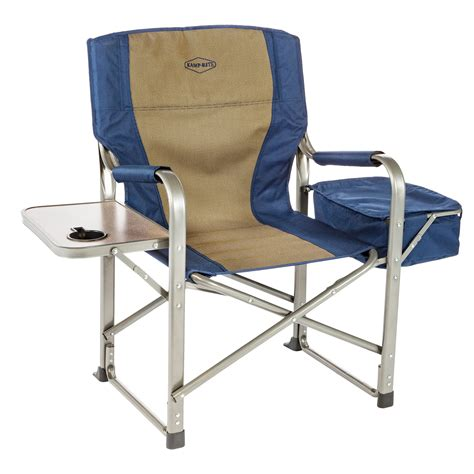 lawn chairs with side table k rite directors chair with side table and built in