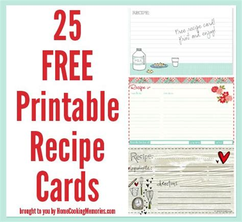 Cocktail Recipe Cards Template by 25 Free Printable Recipe Cards Recipe Cards Free