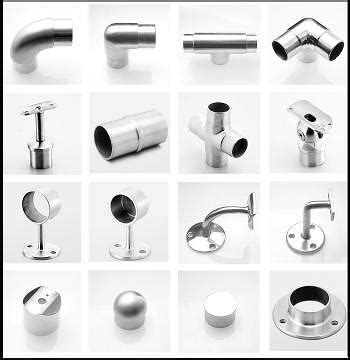 Fitting Banisters by Taiwan Handrail Fittings Stainless Steel Pipe Fittings