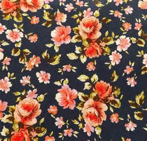 ecc81 cotton spandex floral print english couture company