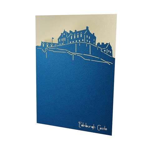 Gift Card Castle - set of three edinburgh landmark cards by urban twist notonthehighstreet com