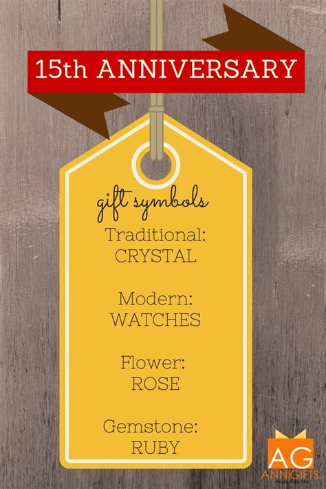 15th Wedding Anniversary What Gift by 1000 Images About 15th Anniversary Gift Ideas On