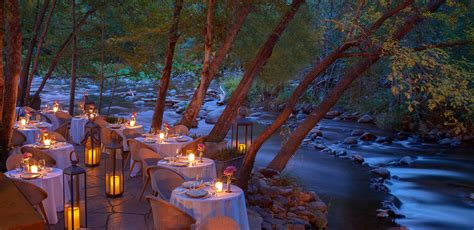 New Garden Restaurant Az by L Auberge De Sedona A Luxury Sedona Resort