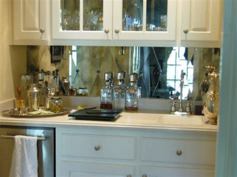 mirrored backsplash design ideas raise your glass and mirror
