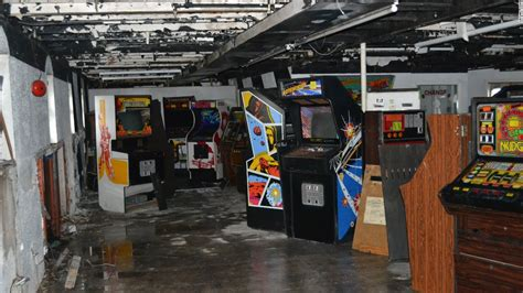 old boat game explorers uncover classic arcade games on abandoned ship