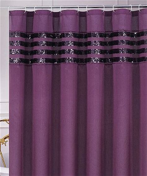 Shower Curtains With Purple Purple Sequin Moline Shower Curtain Purple Textiles And Ps