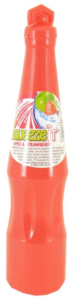Squeze It squeeze it apple and strawberry juice drink 200ml