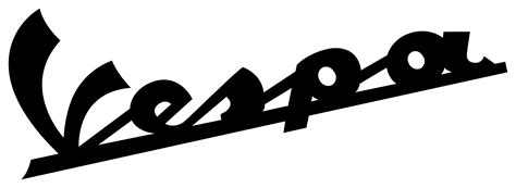 Vespa Piaggio 06 Logo Sticker Motor vespa logo sticker www pixshark images galleries