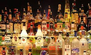 the wall liquors for your home or bar