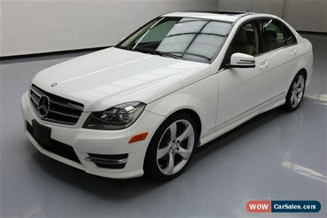 2014 mercedes c class for sale in united states
