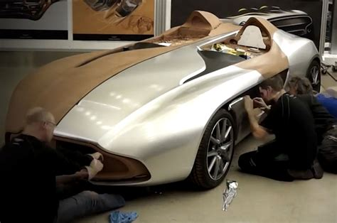 aston martin concept cars video aston martin cc100 speedster from sketch to show car