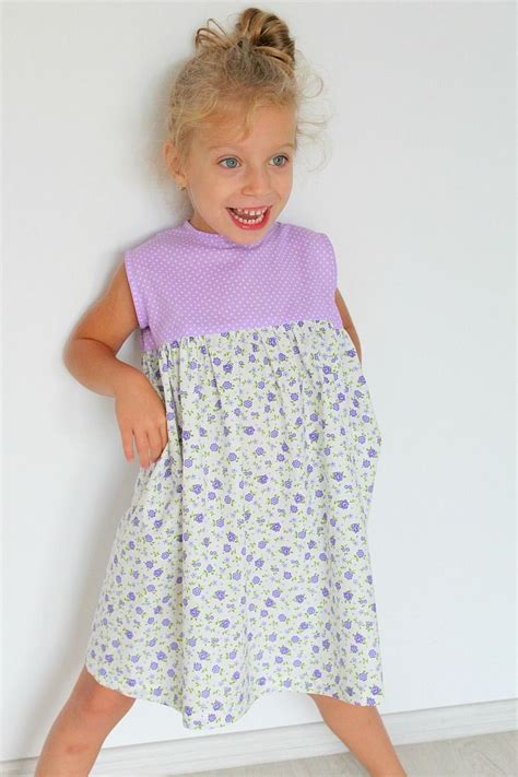 diy gathered dress sewing pattern   simple