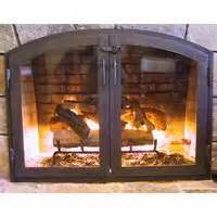 custom iron fireplace doors 1000 images about fireplace screen on custom