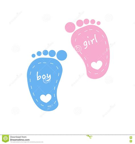 Baby Boy Footprint boy footprints clipart finders