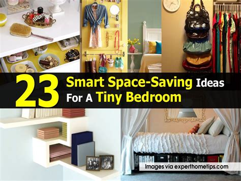 home design smart ideas diy 23 smart space saving ideas for a tiny bedroom