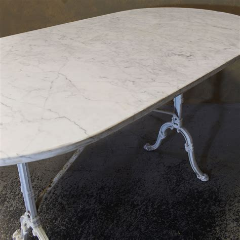 marble top cafe table vintage marble top cafe table omero home