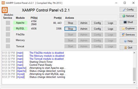 tutorial membuat blog di localhost menggunakan xp tutorial instal auracms di localhost menggunakan xampp r
