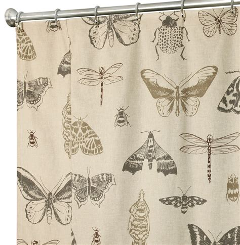 Unique Shower Curtains In Beautiful Fabrics Cool Bathroom Showers
