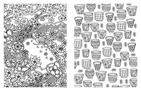 japanese pattern coloring book posh adult coloring book japanese designs for fun