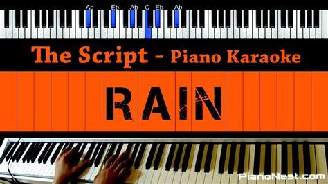download mp3 the script rain the script rain piano karaoke sing along cover