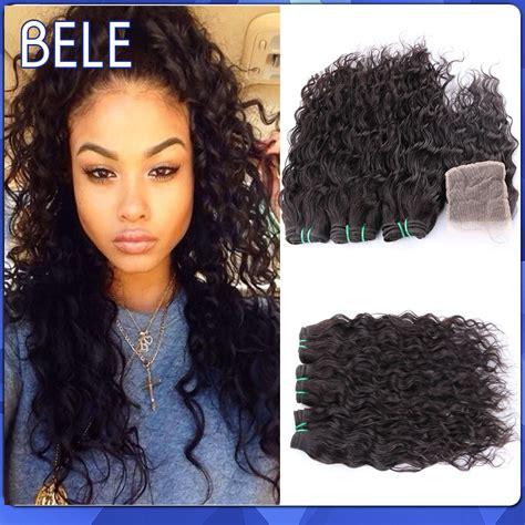 And Wavy Human Hair | wet and wavy human hair closures remy indian hair