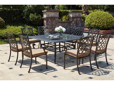 darlee cast aluminum outdoor patio round square bar stool darlee outdoor living standard madison cast aluminum 9