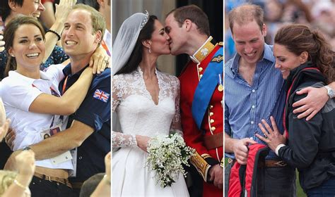 william and kate prince william and kate middleton kissing popsugar love
