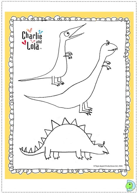 free coloring pages of charlie and lola