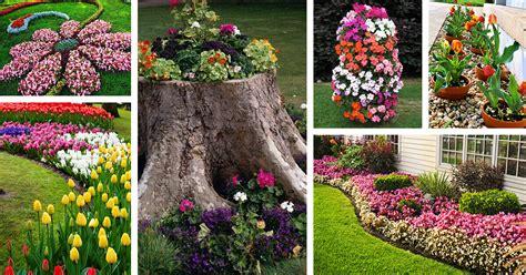 flower bed ideas decorations  designs