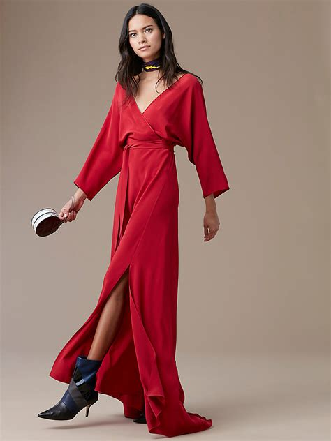 Floor Length Wrap Dress by Sleeve Floor Length Wrap Dress Landing Pages By Dvf