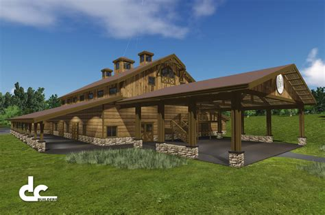 Pole Barn Homes Floor Plans by Wedding And Event Venues Projects Dc Builders
