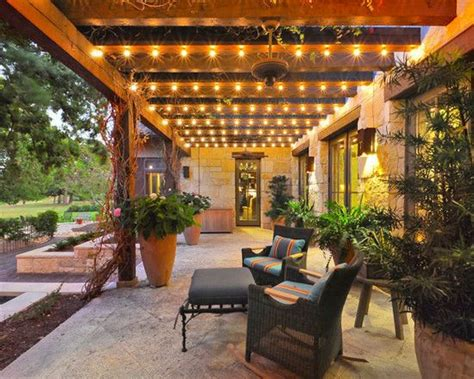 Patio With Lights Patio Lighting Ideas Images