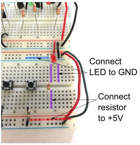 connect resistors on breadboard connect led resistor 28 images 28 images arduino analog pin pull up resistor 28 images
