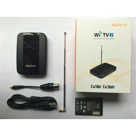 Tv Tuner Android Jakartanotebook mygica wi tv2 wireless tv tuner dvb t2 for android and ios black jakartanotebook