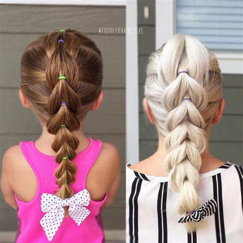 different hairstyles everyday for a month see this instagram photo by toddlerhairideas 34 likes