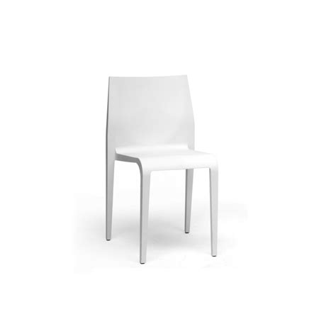 modern plastic furniture blanche white molded plastic modern dining chair see white