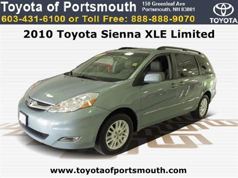 Toyota Of Portsmouth 2010 Toyota Xle Limited Portsmouth Nh Toyota Dealer