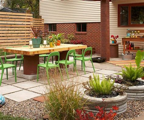 easy backyard patio top 18 patio designs for outdoor dining easy interior backyard garden decor project diy craft