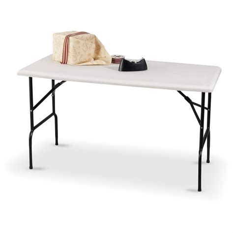 molded tables sale 4x2 molded folding table 129533 kitchen dining at