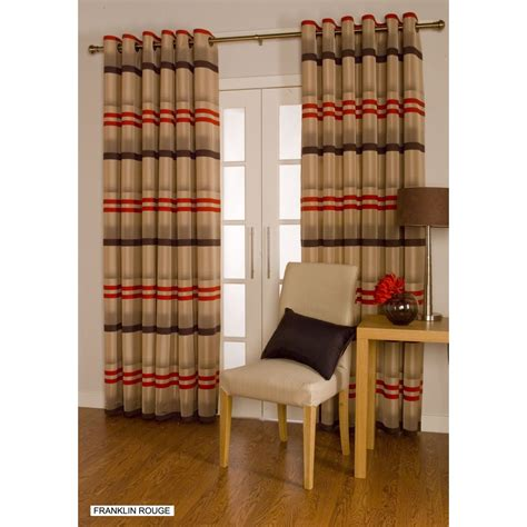 franklin curtains urban living franklin rouge eyelet readymade curtains