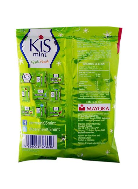 Permen Apple kis mint apple pck 125g klikindomaret
