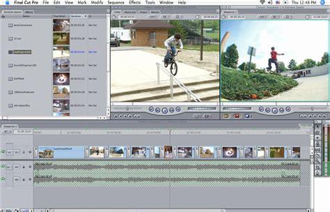 final cut pro editing software equipment