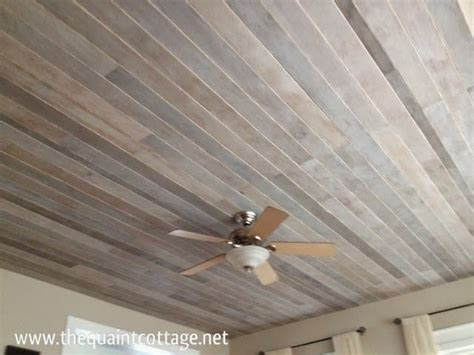 install  planked ceiling   time     build