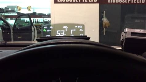 Bmw 1er Head Up Display by Bmw Hus Head Up Screen In E92 Youtube