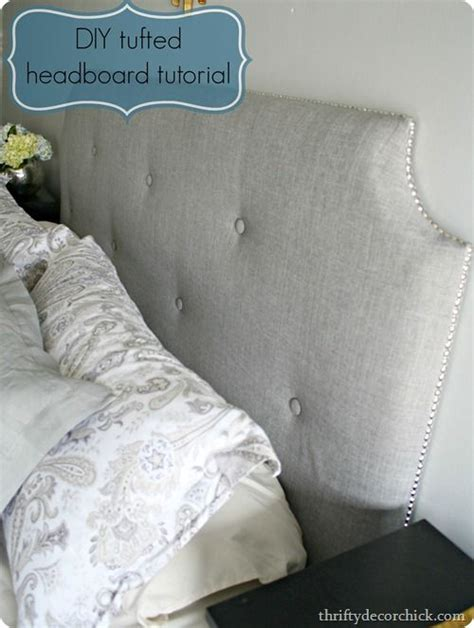 how to make a tufted headboard 25 best ideas about padded fabric headboards on pinterest