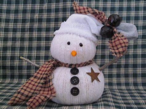 diy sock snowman ornament primitive sock snowman diy ideas the o jays sock snowman and sock