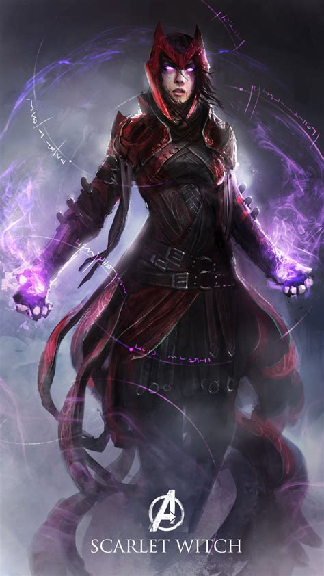 Wizard Lava L by Scarlet Witch By Thedurrrrian On Deviantart