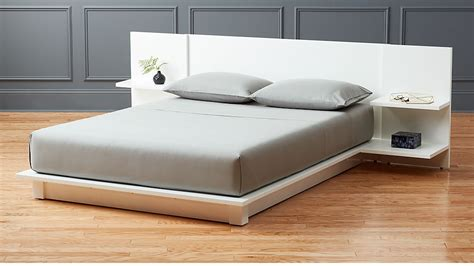 andes white storage bed in beds reviews cb2