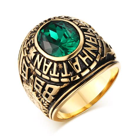 get cheap mens college rings aliexpress