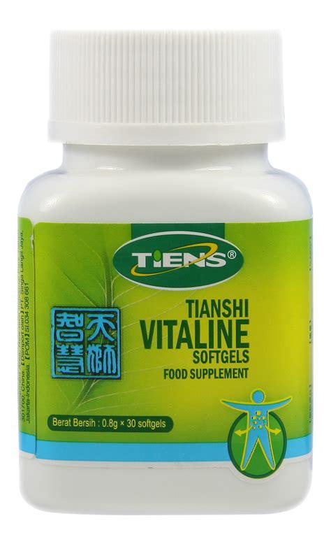 Special Tiens Vitaline Memperbaiki Sirkulasi Darah Ke Otak Paling Mura vitaline softgel capsules sehat bersama herbal